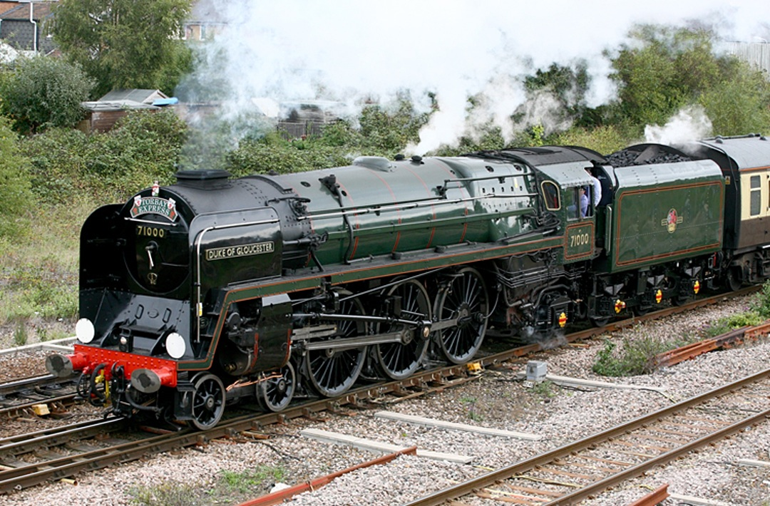 E/31 Duke of Gloucester 8P 4-6-2 BR No: 71000 Locomotive