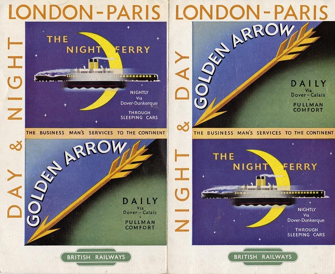 Night Ferry, Golden Arrow