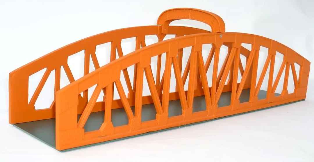 Seven Mill Models Arched Girder Bridge
