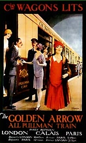 Golden Arrow to Paris poster