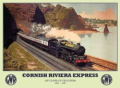 Cornish Riviera Express poster
