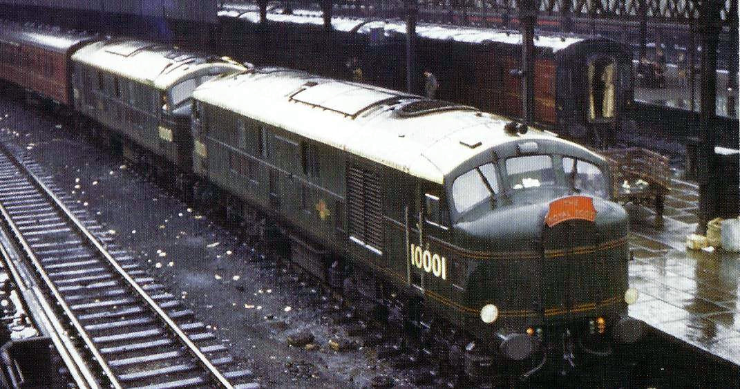 E/39 LMS/BR 10000/10001 - The Royal Scot