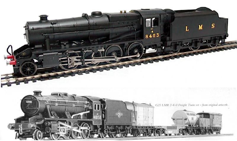 ACE Trains E/38 LMS/NE/BR 8F Stanier